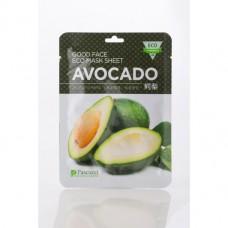 Маска для лица на нетканой основе с экстрактом Авокадо, 1 ШТ
