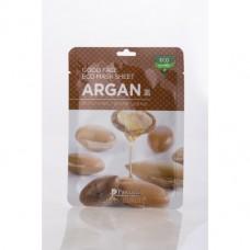 Маска для лица на нетканой основе с экстрактом плодов аргании, 1 ШТ
