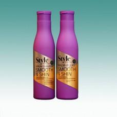 Бальзам – флюид «Smooth & Shine» гладкие и блестящие волосы  250 мл