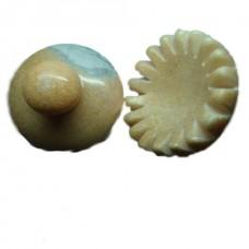 Акупунктурный камень для гуашатерапии (Круглый осьминог)