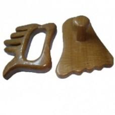 Акупунктурный камень для гуашатерапии (рука и нога)
